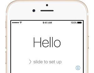 Pantalla Hello, el iphone ya no está desactivado. Solucionado