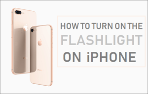 Cómo encender la linterna en el iPhone
