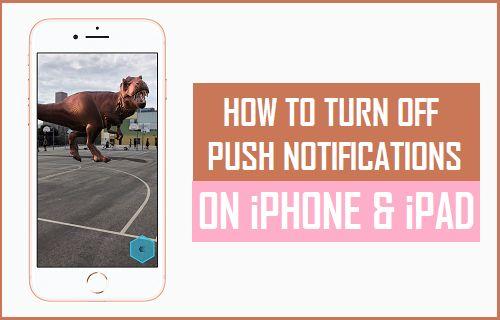 Cómo desactivar las notificaciones push en el iPhone y el iPad