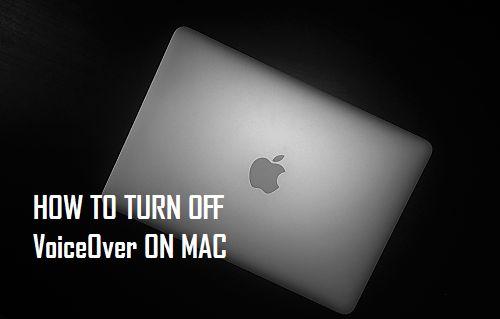 Cómo desactivar VoiceOver en Mac