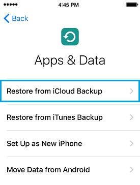 configurar iphone desbloqueado de nuevo
