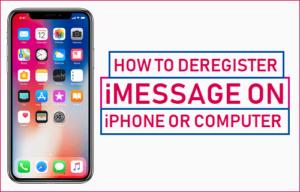 Cómo darse de baja de iMessage en el iPhone o en el ordenador