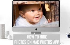Cómo ocultar fotos en la aplicación Fotos de Mac