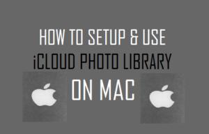 Cómo configurar y utilizar la biblioteca fotográfica de iCloud en Mac