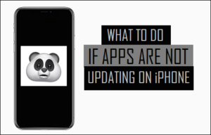 Qué hacer si las aplicaciones no se actualizan en el iPhone