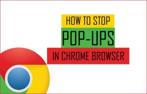Cómo detener las ventanas emergentes en el navegador Chrome en el teléfono, PC y Mac