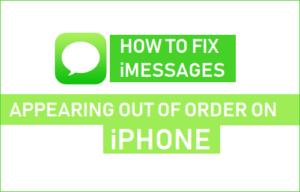 Cómo corregir iMessages que aparecen fuera de servicio en el iPhone