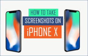 Cómo tomar capturas de pantalla en el iPhone X