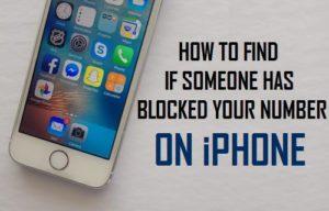 Cómo saber si alguien ha bloqueado su número en el iPhone