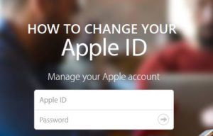 Cómo cambiar el ID de Apple en el iPhone o iPad