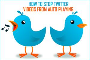 Cómo evitar que los vídeos de Twitter se reproduzcan automáticamente