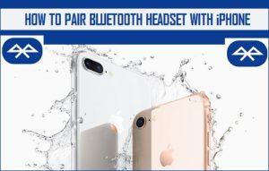 Cómo emparejar los auriculares Bluetooth con iPhone
