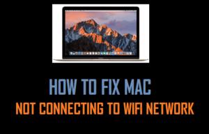 Cómo solucionar problemas de Mac sin conectarse a una red WiFi