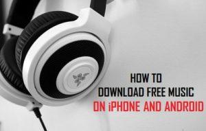 Cómo descargar música gratis en iPhone y Android