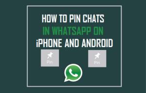 Lee más sobre el artículo Cómo fijar los chats en WhatsApp para iPhone y Android