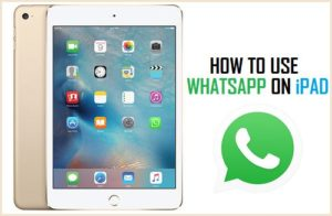 Cómo utilizar WhatsApp en el iPad