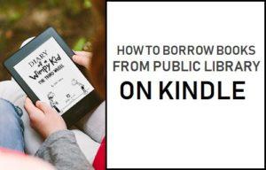 Cómo pedir prestados libros de la biblioteca pública sobre Kindle