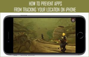 Cómo evitar que las aplicaciones rastreen tu ubicación en el iPhone