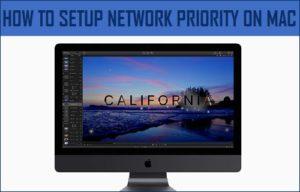 Cómo configurar la prioridad de red en Mac
