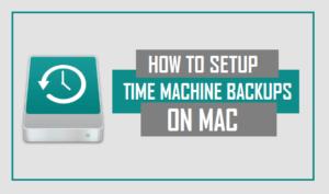 Cómo configurar las copias de seguridad de Time Machine en Mac