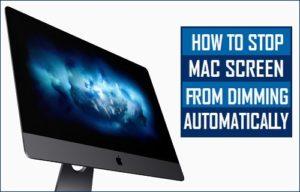 Cómo evitar que la pantalla del Mac se oscurezca automáticamente