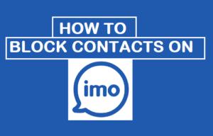 Cómo bloquear contactos en la omi