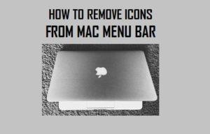 Cómo reorganizar y eliminar iconos de la barra de menús de Mac