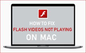 Cómo corregir los vídeos Flash que no se reproducen en Mac