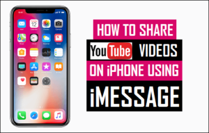 Cómo compartir vídeos de YouTube en iPhone utilizando iMessage
