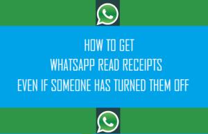 Cómo obtener recibos de lectura de WhatsApp aunque alguien los haya apagado