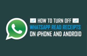 Cómo desactivar los recibos de lectura de WhatsApp en iPhone y Android