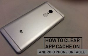 Cómo borrar la caché de la aplicación en un teléfono Android o Tablet PC