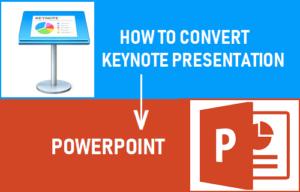 Cómo convertir una presentación de Keynote a PowerPoint