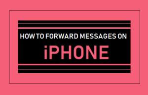 Cómo reenviar mensajes en el iPhone