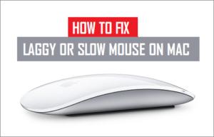 Cómo arreglar el retraso o el ratón lento en Mac
