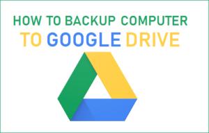 Cómo hacer una copia de seguridad del equipo en la unidad de Google