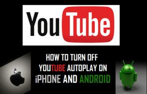 Cómo desactivar la reproducción automática de YouTube en iPhone y Android