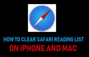 Cómo borrar la lista de lecturas de Safari en iPhone y Mac