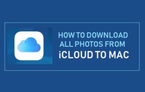 Cómo descargar todas las fotos de iCloud a Mac