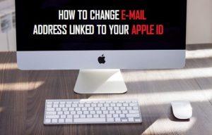 Cómo cambiar la dirección de correo electrónico vinculada a tu ID de Apple