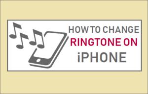 Cómo cambiar el tono de llamada en el iPhone