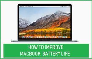 Cómo mejorar la duración de la batería del MacBook