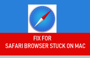 Corrección para el navegador Safari atascado en el Mac