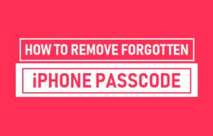 Cómo quitar la contraseña olvidada de iPhone