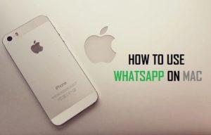 Cómo utilizar WhatsApp en Mac