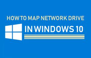 Cómo asignar una unidad de red en Windows 10