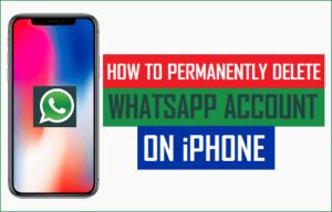 Cómo eliminar permanentemente una cuenta de WhatsApp en el iPhone