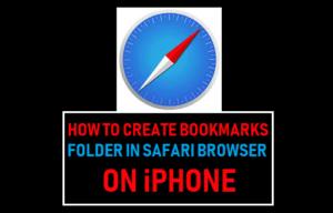 Cómo crear una carpeta de favoritos en el navegador Safari del iPhone
