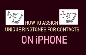 Cómo configurar los tonos de llamada para los contactos en el iPhone