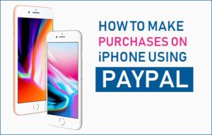 Cómo realizar compras en el iPhone utilizando PayPal